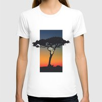 africa T-shirts featuring Africa by Trevor Seymour