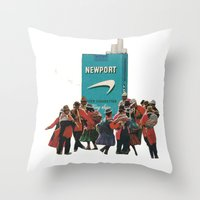 It's A Tribal Thing Throw Pillow