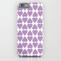 Diamond Hearts Repeat O iPhone 6 Slim Case