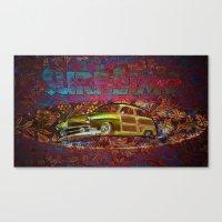 Surf Limo Canvas Print