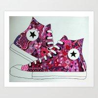 Stunning Shoes Art Print