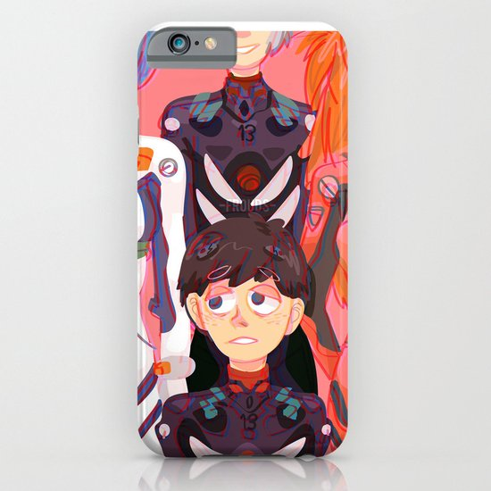 Evangelion Kids iPhone & iPod Case