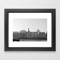Butler´s Wharf - London Framed Art Print