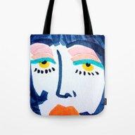 Mod Girl Tote Bag