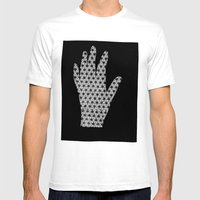 Until The Fingers Began … Mens Fitted Tee White SMALL