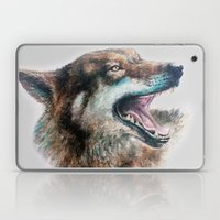 Wolf Smile Laptop & iPad Skin