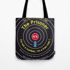 The Prisoner - Patrick McGoohan Vintage Decoration Print Posters Tote Bag