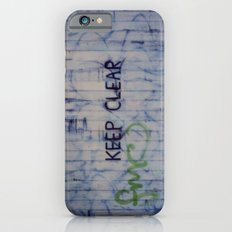 Keep Clear iPhone 6 Slim Case