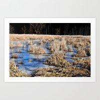 Swamped Art Print