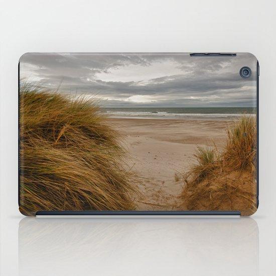 Bamburgh Beach iPad Case