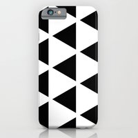 Sleyer Black on White Pattern iPhone 6 Slim Case