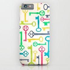 Colorful Vintage Keys Slim Case iPhone 6s