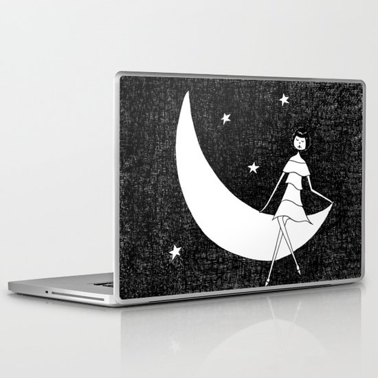 To the moon and back Laptop & iPad Skin