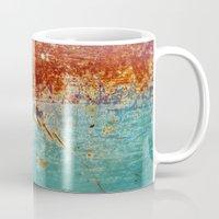 Teal Rust Mug