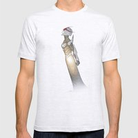 Nova Mens Fitted Tee Ash Grey SMALL