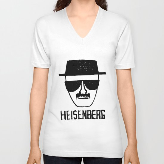 Heisenberg - Breaking Bad Sketch V-neck T-shirt