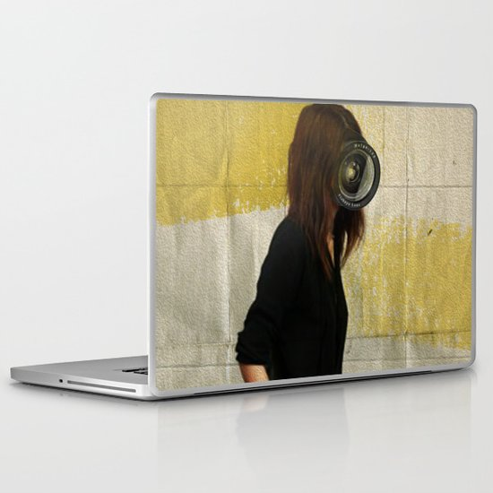 Deep Water Running Laptop & iPad Skin