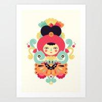 Keiko Art Print