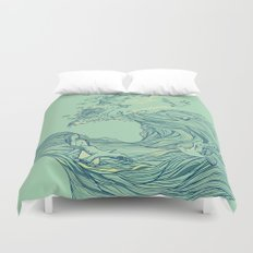 Ocean Breath Duvet Cover