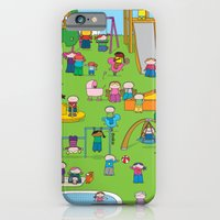 iPhone & iPod Case featuring Playground  XL by oekie