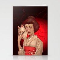 Tamamo No Mae Stationery Cards