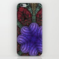 Psychedelic Botanical 2 iPhone & iPod Skin