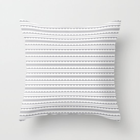 Half Moon Pattern Throw Pillow