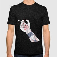 Lemmy Mens Fitted Tee Tri-Black SMALL