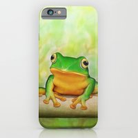 iPhone & iPod Case featuring Taipei TreeFrog by Amy Fan