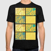 Lemon Sun and Moon Mens Fitted Tee Tri-Black SMALL