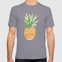 Pineapple Mens Fitted Tee Slate SMALL