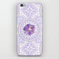 Delphinium Lace iPhone & iPod Skin