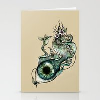 Flowing Inspiration Stationery Cards