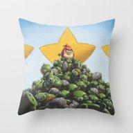 Threat Neutralized! Throw Pillow