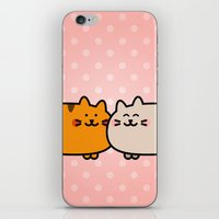 Romantic Cats iPhone & iPod Skin