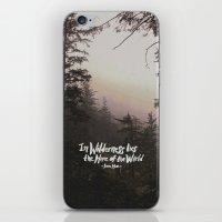 Wilderness Hope x John Muir iPhone & iPod Skin