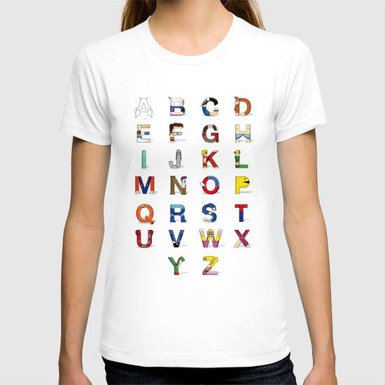 VGC alphabet T-shirt