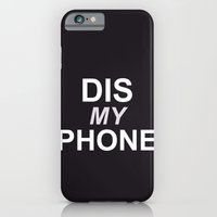 Dis My Clothing Line iPhone 6 Slim Case