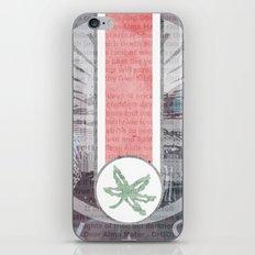 The Buckeye State iPhone & iPod Skin