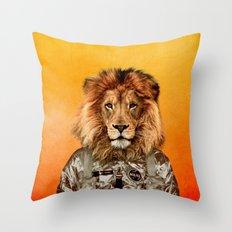 Go flight Throw Pillow