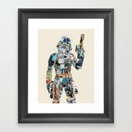 Modern Trooper Framed Art Print