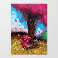 Little Oni Canvas Print
