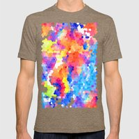Summer Garden Mens Fitted Tee Tri-Coffee SMALL