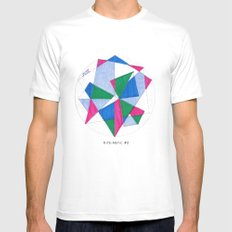 Kite-Netic #2 Mens Fitted Tee SMALL White
