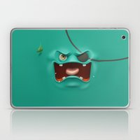 Angry face Laptop & iPad Skin