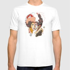 Minnie Riperton - Soul Sister | Soul Brother White SMALL Mens Fitted Tee