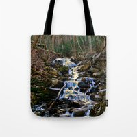 Mountain Waterfall Tote Bag