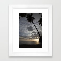 St Lucian Delight Framed Art Print