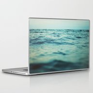 Aqua Sea Laptop & iPad Skin