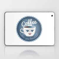 Cold Coffee Makes You Be… Laptop & iPad Skin